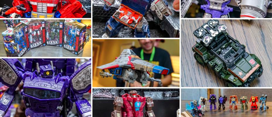 Transformers War for Cybertron SIEGE Unboxing Event from NYCC 2018!