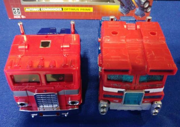 FigurinesStatues Optimus Prime Réédition Transformers Autobot Jouet G1 wnOk80P