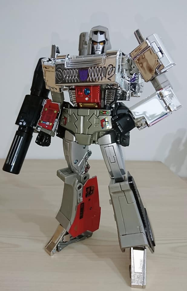 Takara Tomy Masterpiece MP-36+ Megatron (G1 Toy Color ...