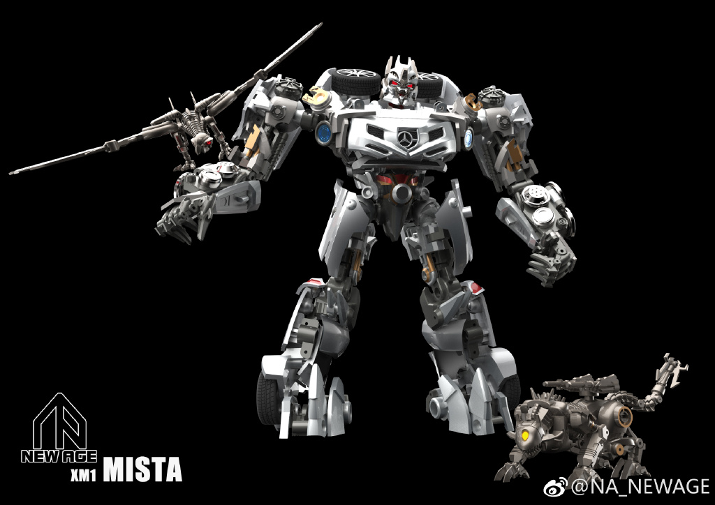 New Age Xm1 Mista Masterpiece Scaled Dark Of The Moon