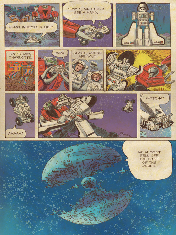 Go-Bots issue 3 ITunes Preview And Retailer Incentive Cover - Transformers  News - TFW2005