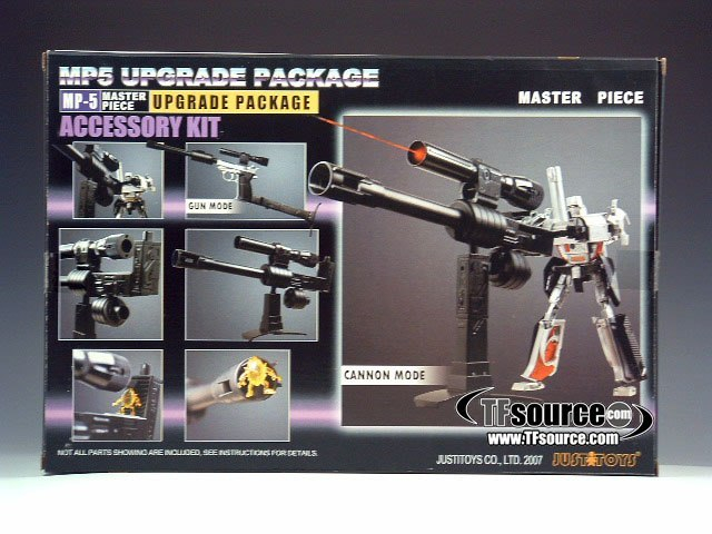 Masterpiece Megatron MP5 Upgrade Set Now in Stock at