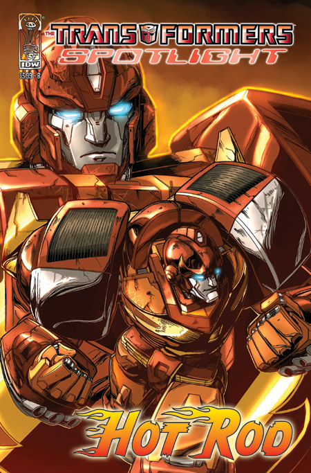 Preview Transformers Spotlight Hot Rod Comic Book