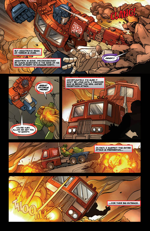 G I Joe vs Transformers III #4 5 Page Preview Online - Transformers