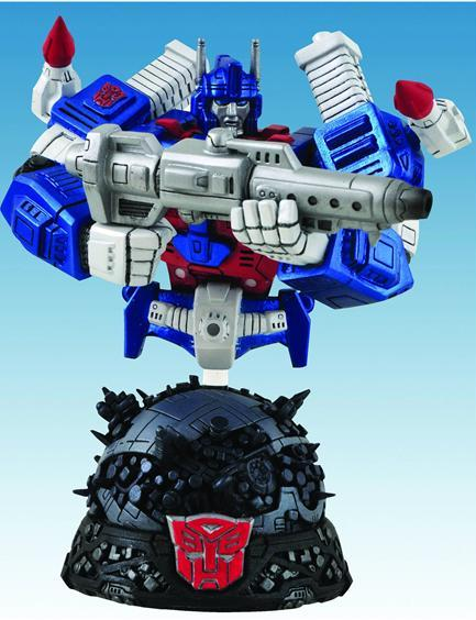 Diamond Select Toys Transformers Bust Shipping Update