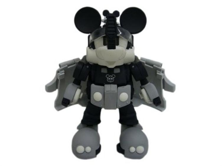 Transformers Disney Label Mickey Mouse Black  *new*