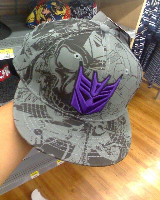 New Transformers Baseball Caps found at WalMart - Transformers News ... 8ff5af03bf4