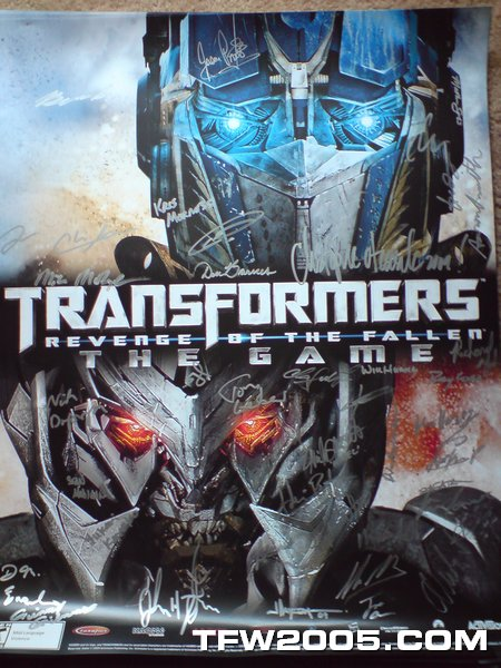 activision poster  Win a Signed Revenge of the Fallen Poster! - Transformers News - TFW2005