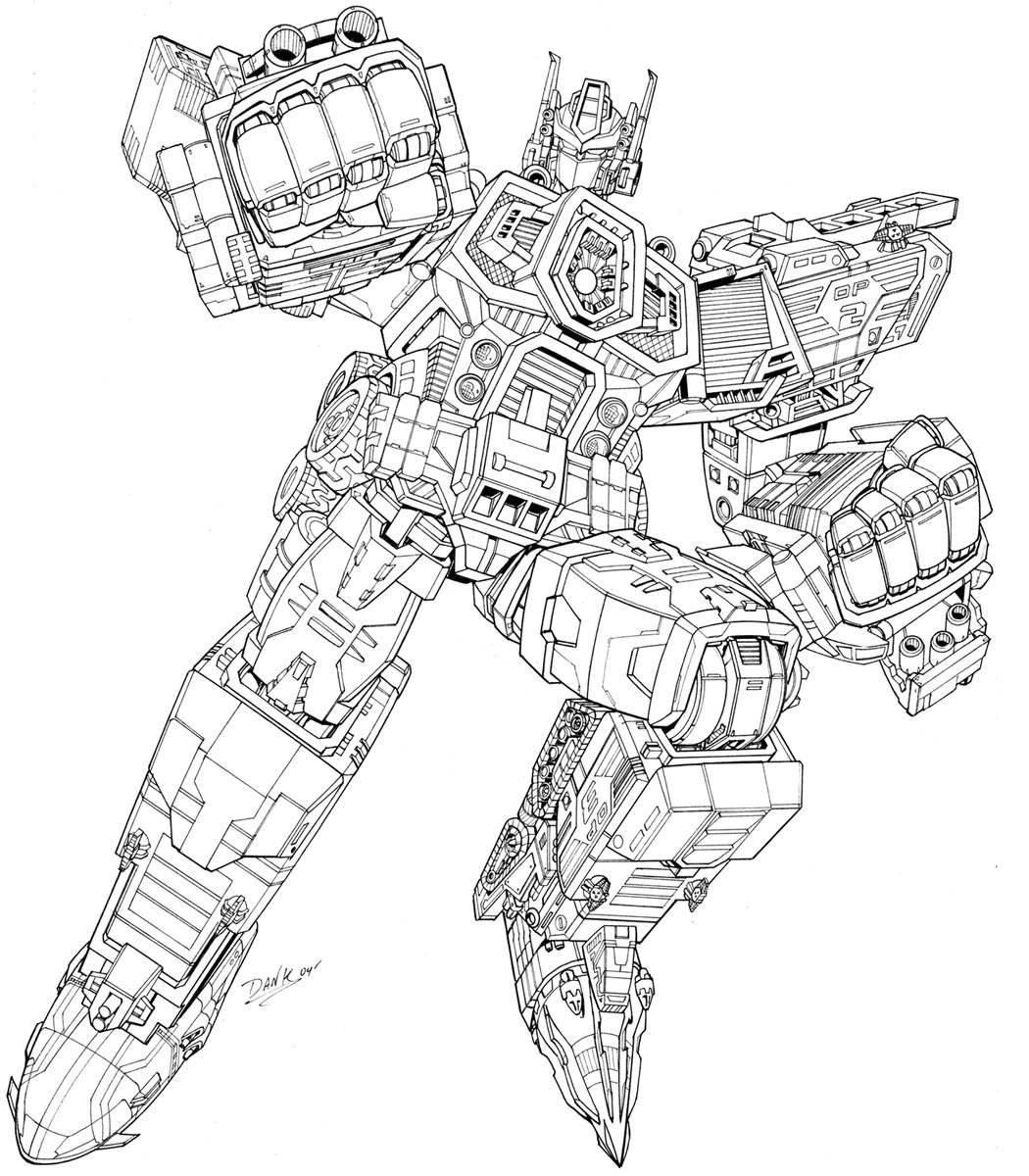 Artwork For Unreleased Transformers Energon Optimus Prime And