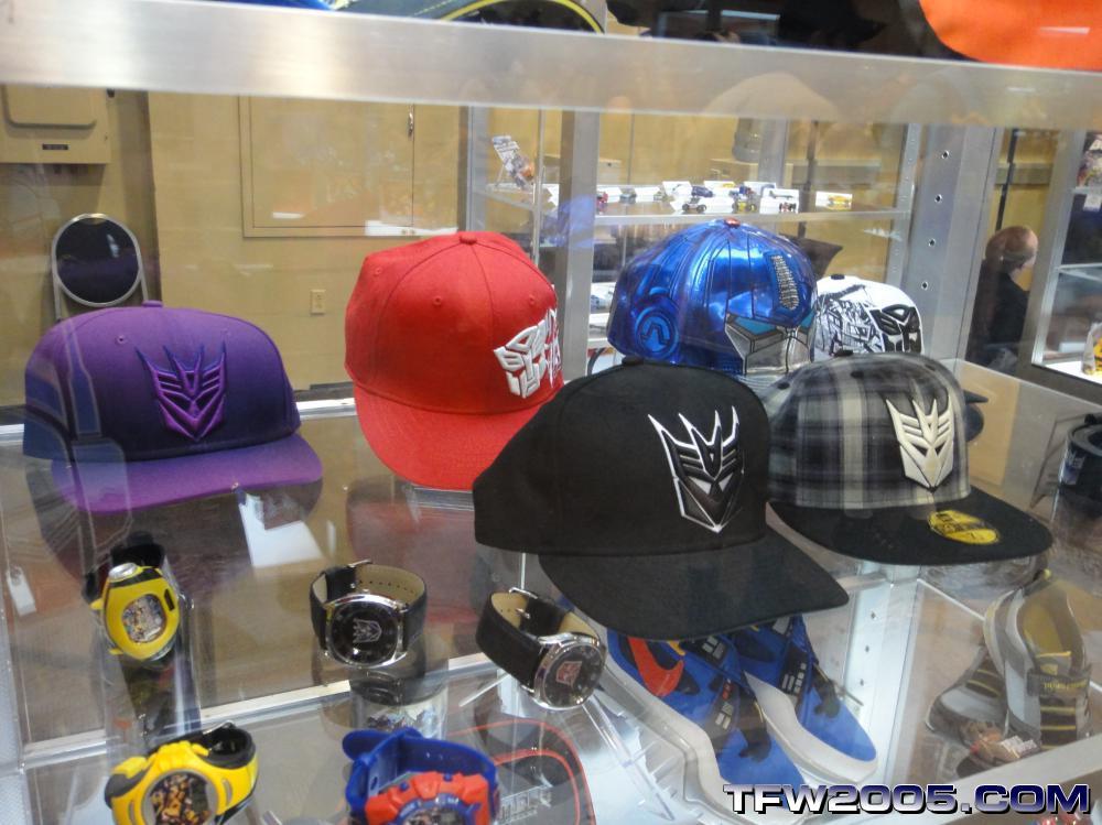 c01fc041 New Era Transformers Hats at Botcon 2010 - Transformers News - TFW2005