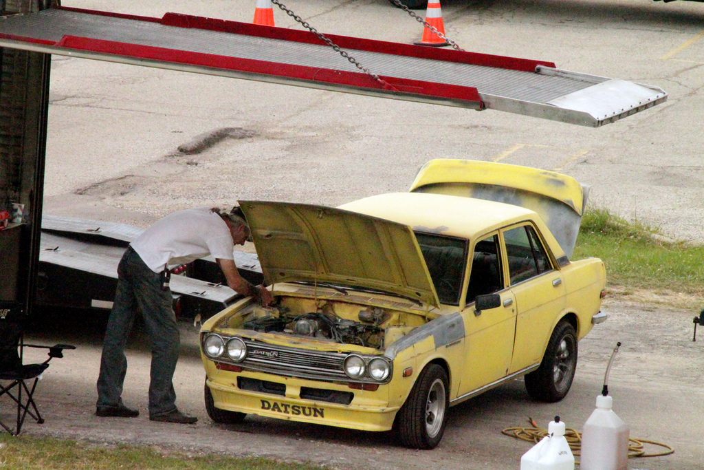 Transformers 3 Milwaukee Filming - Sam Witwicky And His 1972