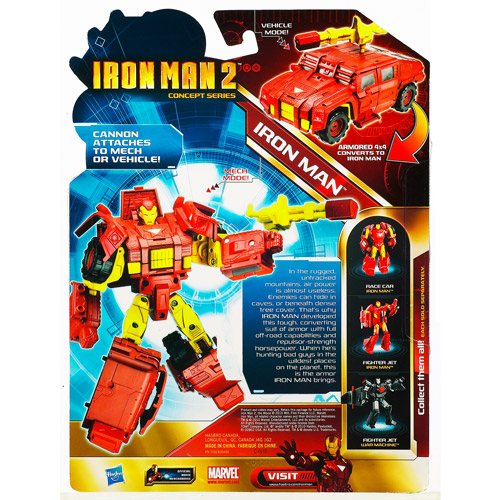 Transformers Crossovers Iron Man 2 Concept Series