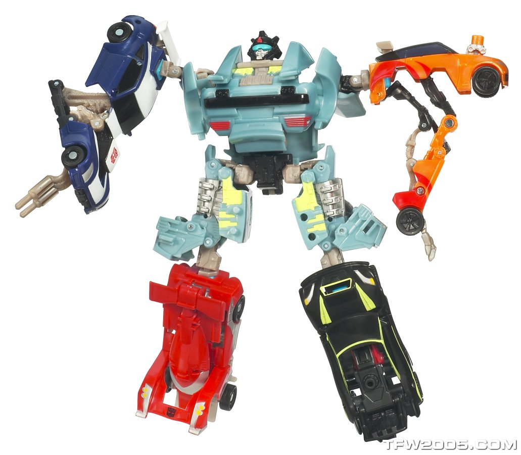 Transformers Power Core Combiners Windburn Complete PCC