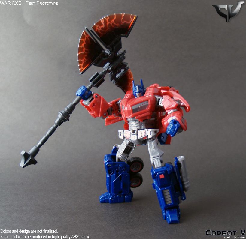Corbot V War Axe For War For Cybertron Optimus Prime