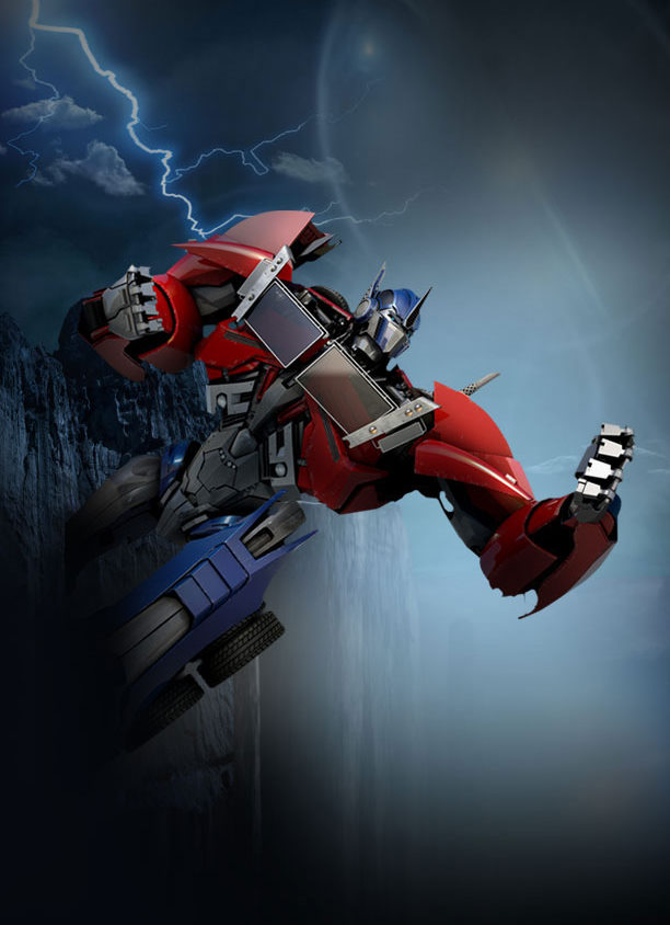 Transformers: Prime New Hub Background Image