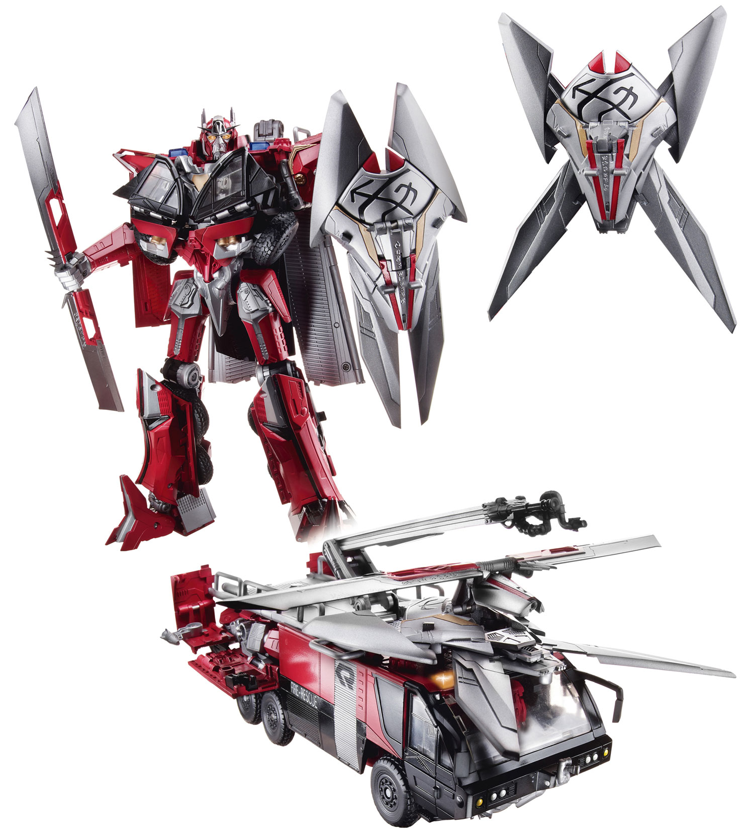 transformers: dark of the moon sentinel prime toy revealed