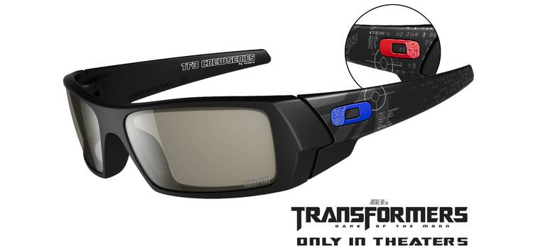 cec1fc7de9 Transformers Dark of the Moon Limited Edition 3D Glasses by Oakley ...