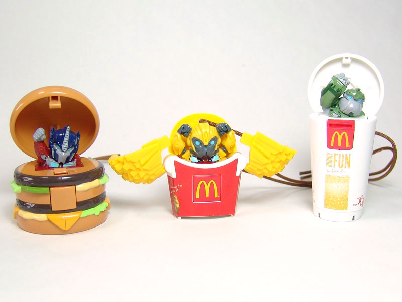 Happy Meal Toys : Japanese mcdonald s happy meal toy pics transformers