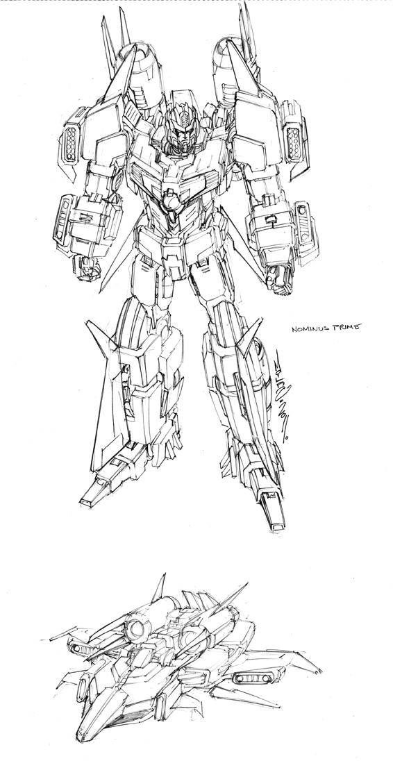 Alex Milne Nominus Prime Design Transformers News Tfw2005
