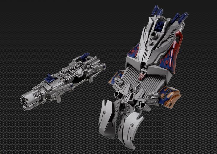 Dark Of The Moon Striker Optimus Prime Japanese Exclusive