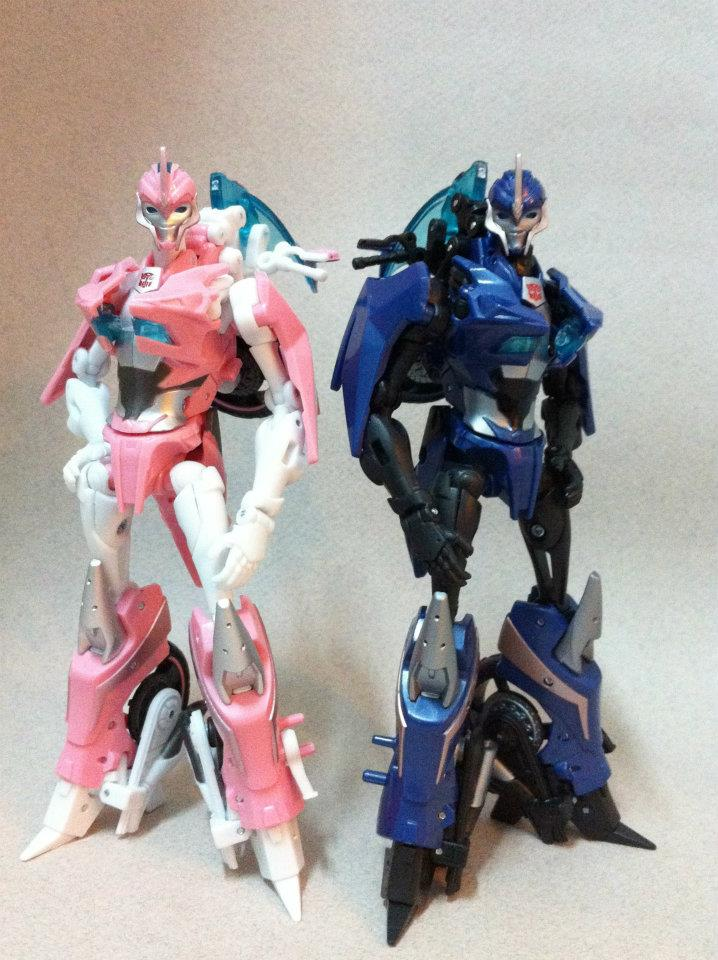 Gallery Of Transformers Prime Arcee Transformers News