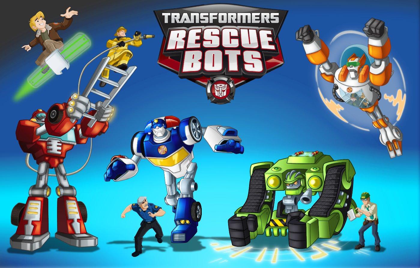 Transformers: Rescue Bots Sneak Peek Poster - Transformers