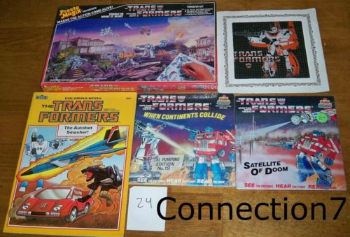 Featured Ebay Auctions Books Stickers And More Transformers News Tfw2005