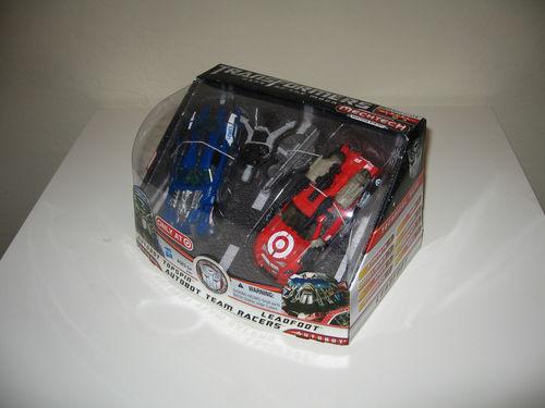 Leadfoot Dark of the Moon Custom Rare Autobots Transformers Action Figure