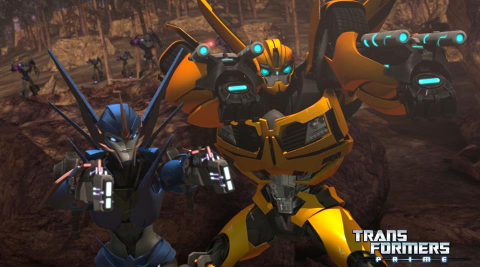 Transformers Prime Quot New Recruit Quot Image Of Smokescreen