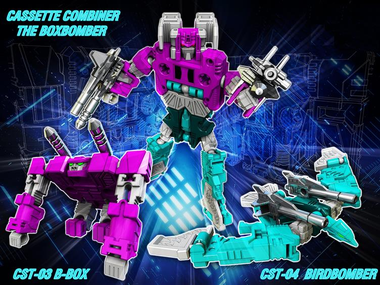TRANSFORMERS G1 Reissue cassettes Squawktalk Beastbox brand new