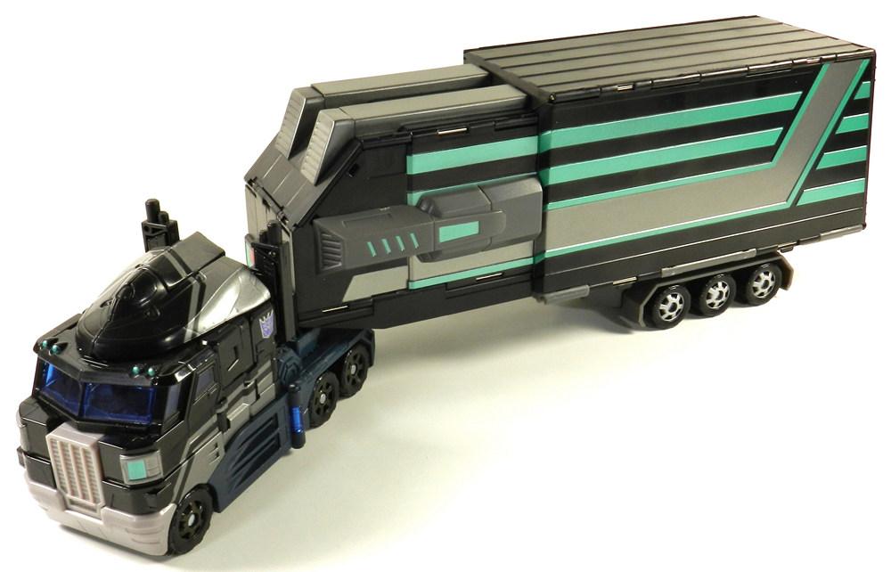 Transformers BTS-01 Nemesis Motion Trailer for Classic Optimus Prime Purple Vers