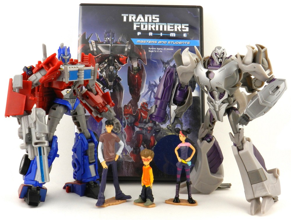 Transformers Prime MEGATRON Complete Deluxe First Edition