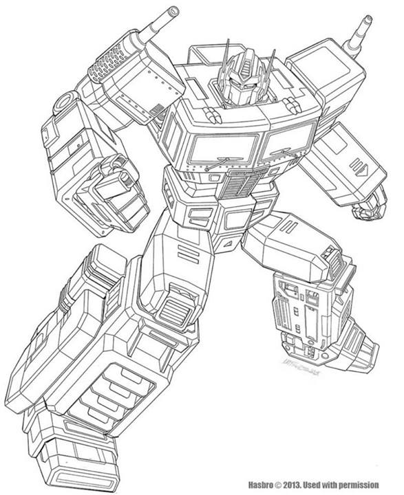 Year Of The Horse Optimus Prime Artwork Pencils And