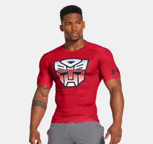 98bf538baf862 Under Armour Transformers Athletic Attire - Transformers News - TFW2005