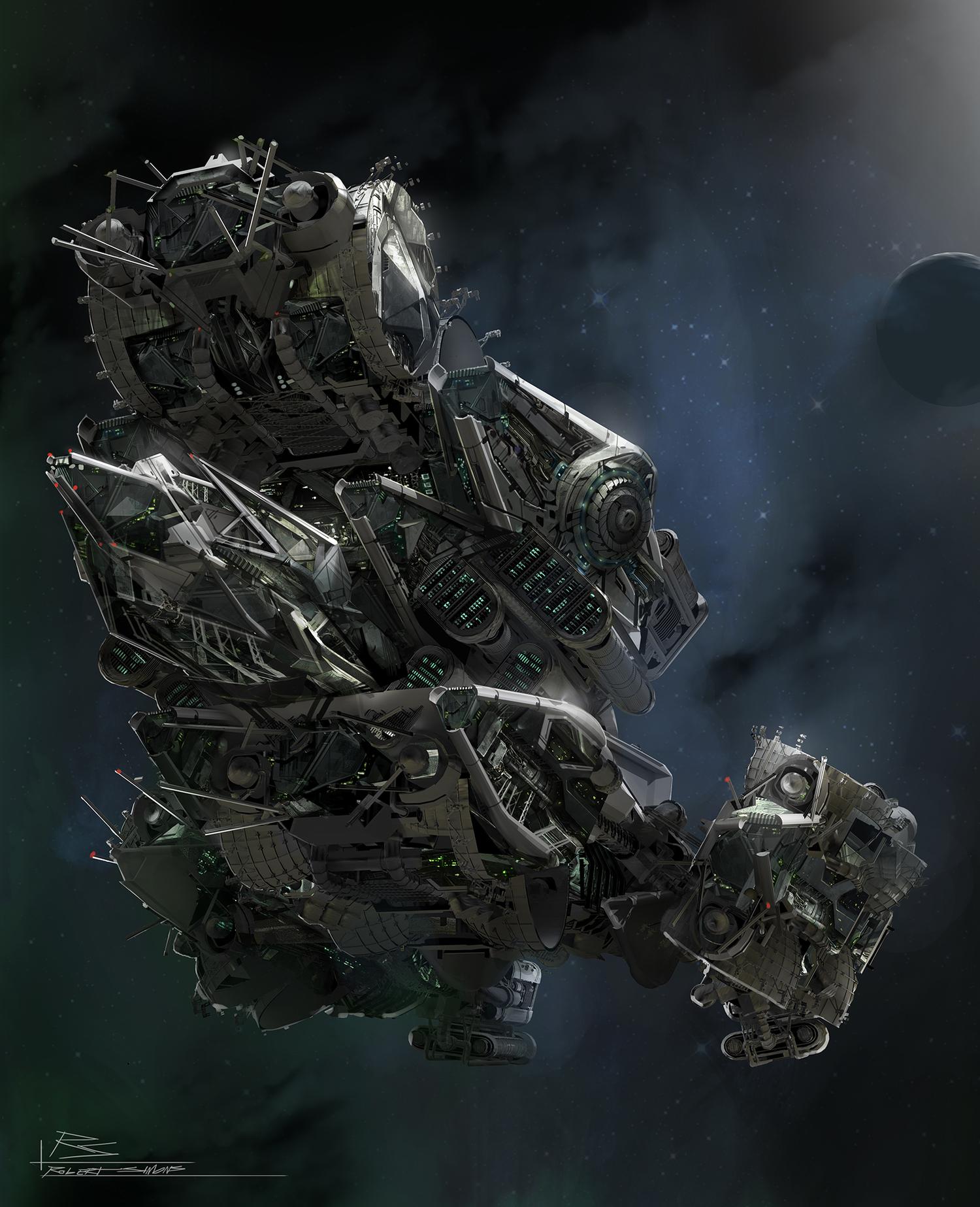Transformers 4 Concept Art from Robert Simons ...