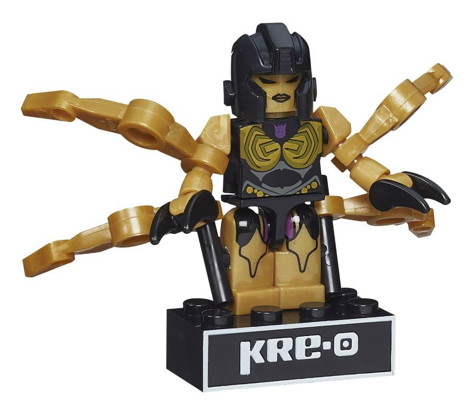 Transformers Hasbro G1 Kre-O Kreon Age of Extinction Micro-Changer Misfire