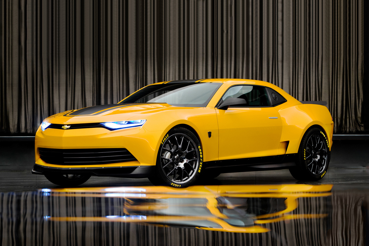 Transformers 4 Age Of Extinction Chevrolet Camaro Commercial