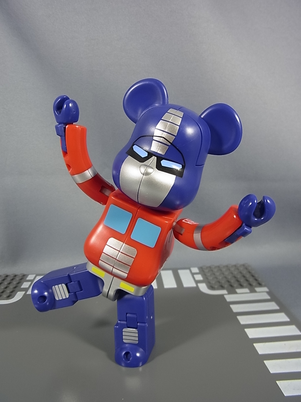 5a86569d Transformers Bearbrick Crossovers Optimus Prime and Megatron In Hand ...