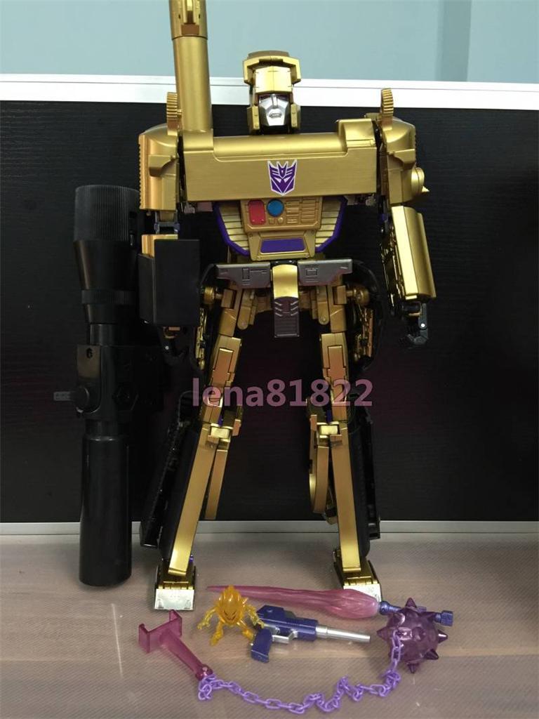 Transformers Masterpiece MP-05G Megatron Gold Version Action Figure Takara Toy
