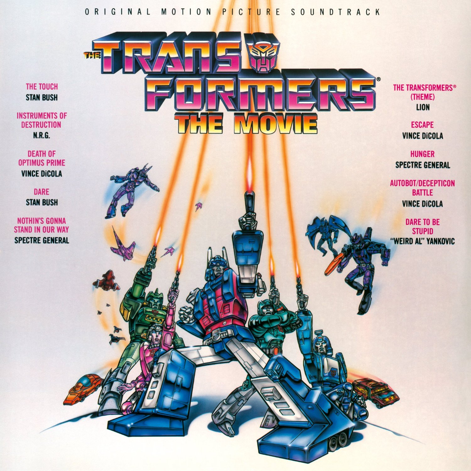 Transformers The Movie Original Soundtrack Re Release On