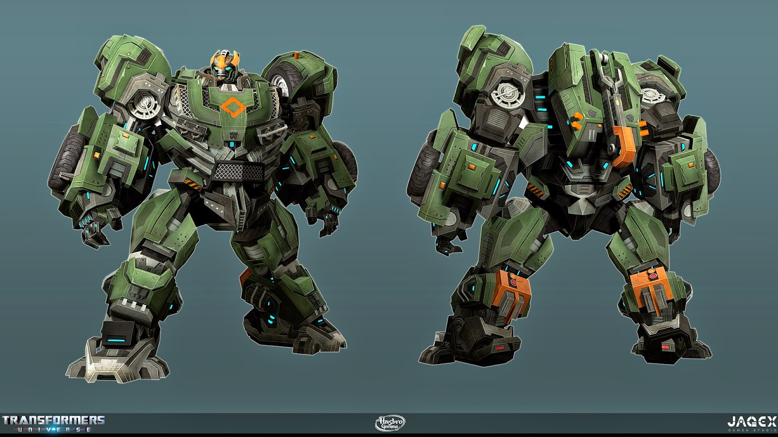 Jagex Transformers Universe Concept Artwork including ...