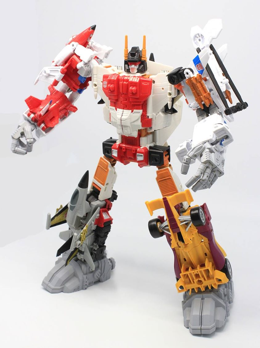 AMO PC-03 Combiner Upgrade Set:Superion Set,In stock!