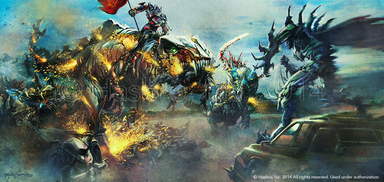 Age Of Extinction Concept Art Dinobotrs