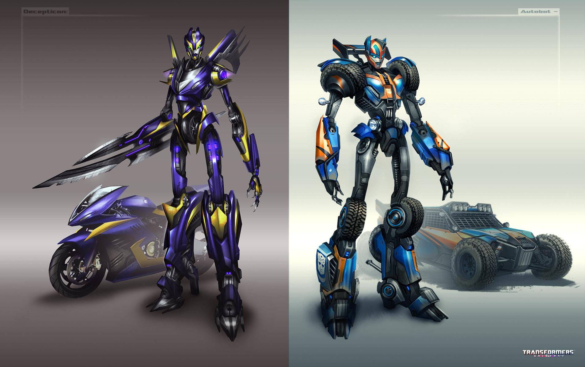 Robot Warrior Sci Fi Robot Concept Art