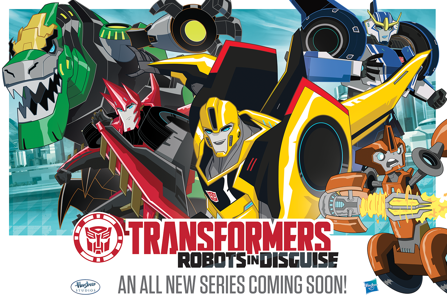 Transformers: Robots In Disguise US Premiere Date And ...  Transformers: R...