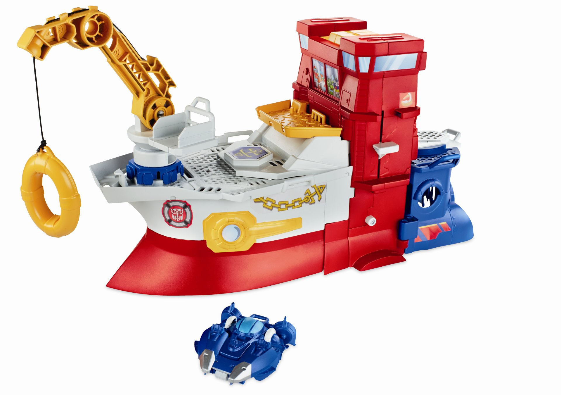 Rescue Bots High Tide Blurr and