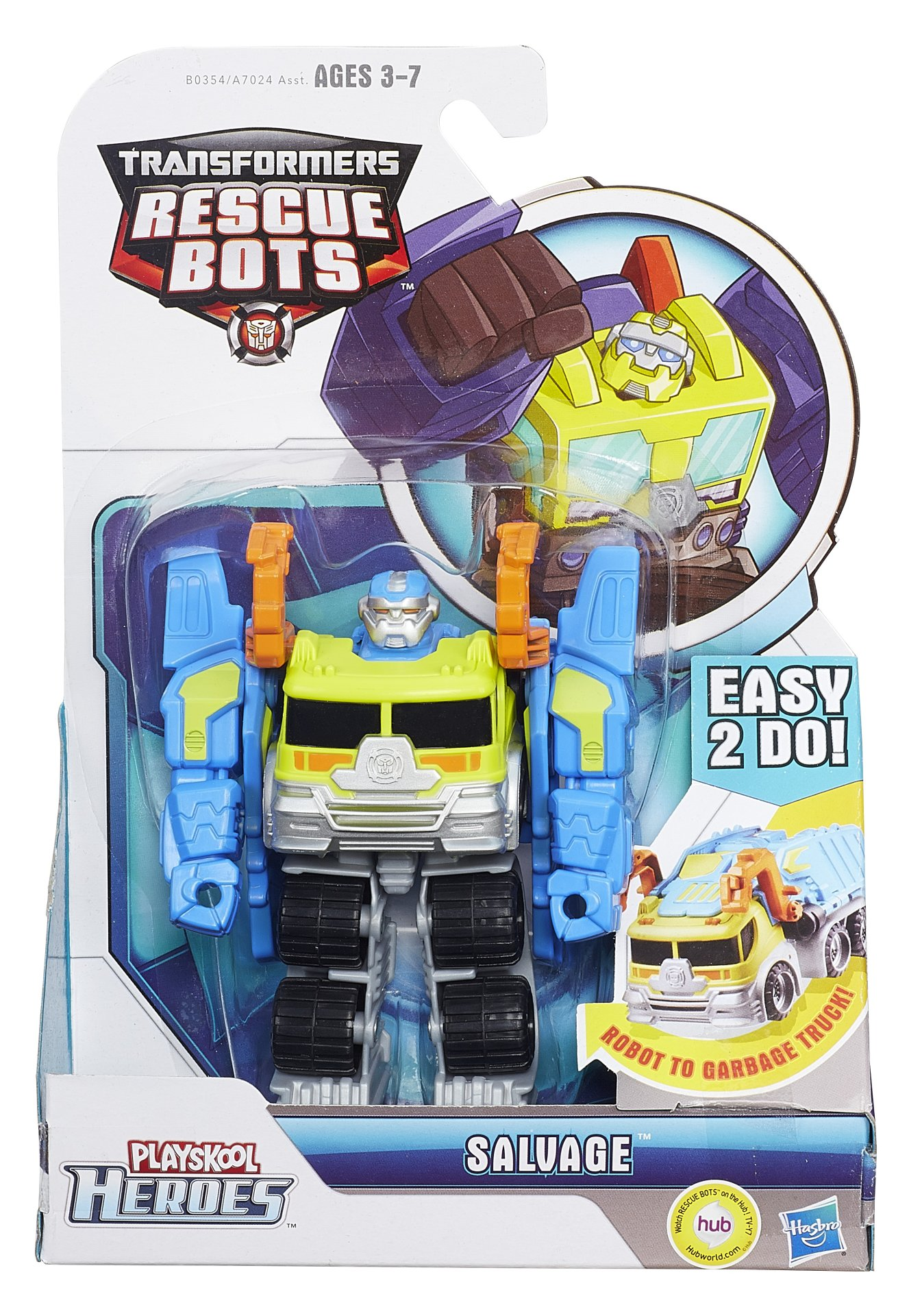 Rescue Bots High Tide Blurr And Salvage Toy Fair Official