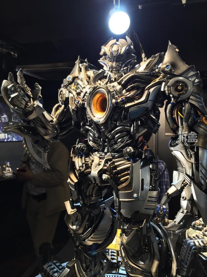 new images of prime 1 studios galvatron transformers