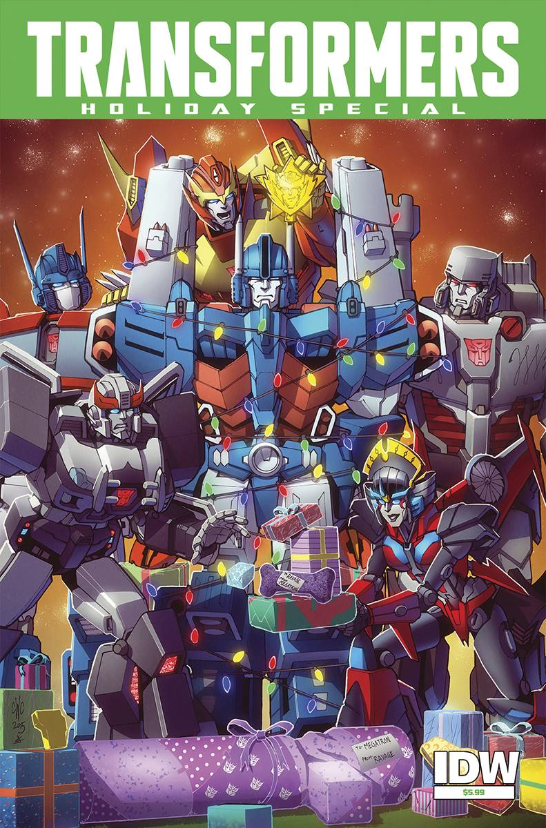 Idw December 2015 Transformers Solicitations