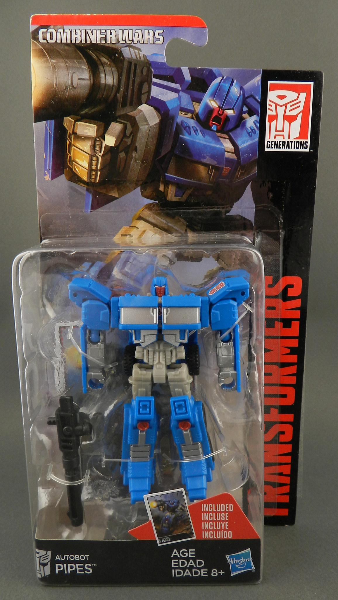 Transformers Combiner Wars Huffer Pipes Gun